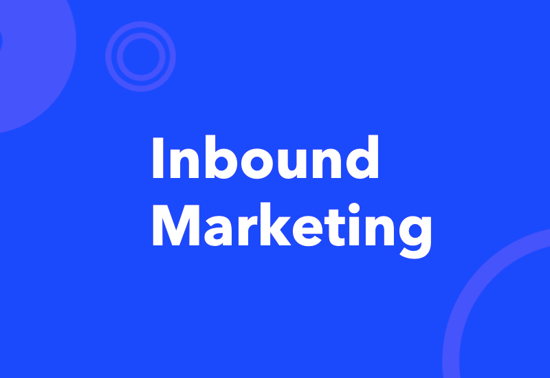 Inbound Marketing - Services
